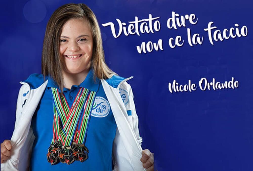 Campionessa mondiale Nicole Orlando con la Asd Corricastrovillari