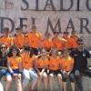 I ragazzi della Corricastrovillari in staffetta all'Olimpico di Roma